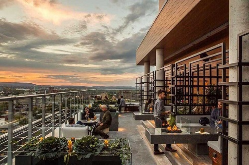 Andaz Copper Spirits Rooftop Patio