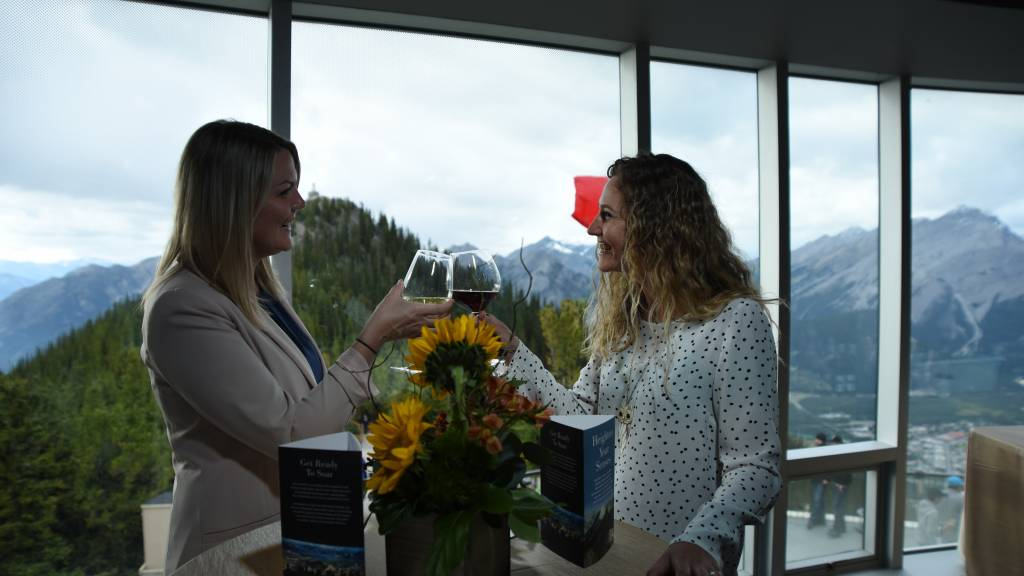 Sip and Sup at the Summit, Sulphur Mountain