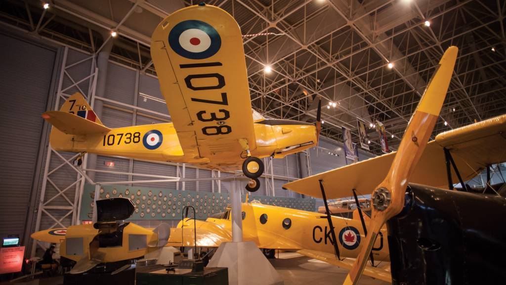 A Real Wing Ding, Canadian Aviation and  Space Museum