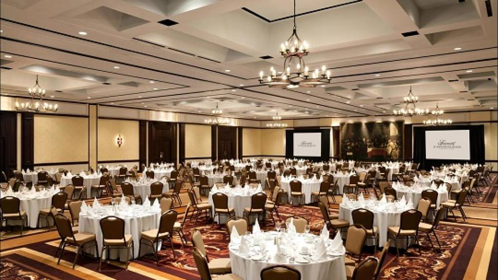 Richelieu Ballroom at the Fairmont Le Manoir Richelieu