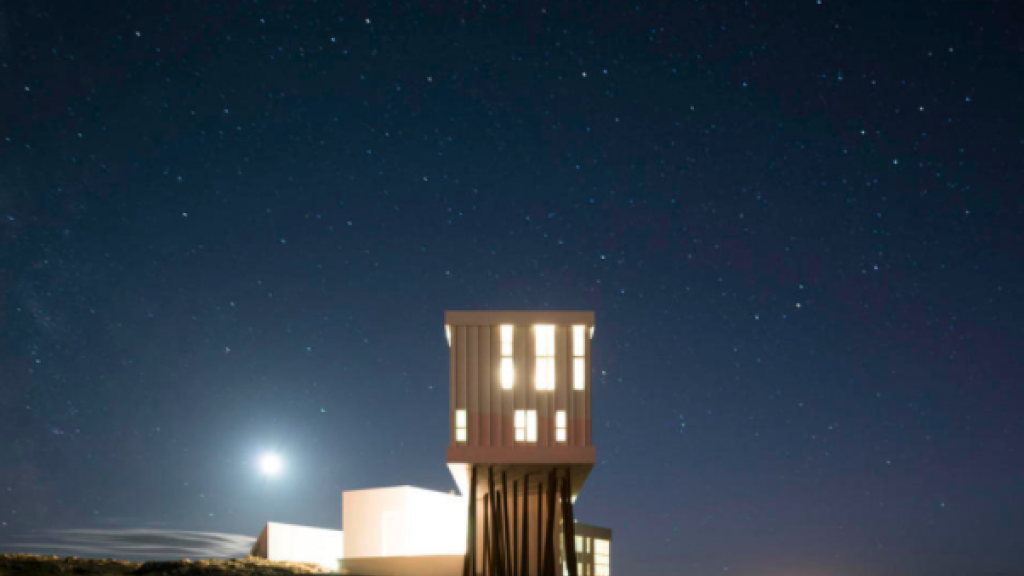 stargazing at Fogo Island Inn