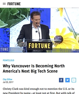 Why Vancouver Is Becoming North America's Next Big Tech Scene